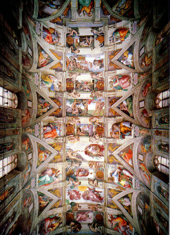 Michelangelo+Quotes+About+Sistine+Chapel